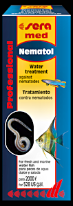 Nematol 50 ml, Sera, kalojen itsehoitoaine sukkulamatoihin