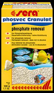 Fosfaatinpoistaja akvaarioon, makeaan ja meriveteen