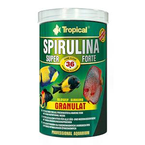 Tropical spirulina super forte granulaatt