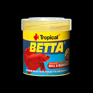Tropical Betta hiutaleet