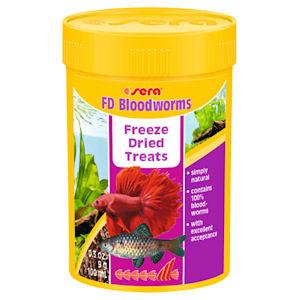 Sera Bloodworms verimadot