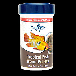 Fish Science tropical fish worm pellet