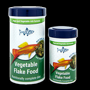 Fish science vegetable flakes