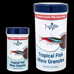 Fish science tropical fish micro granules