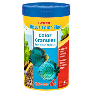 Sera blue granules for discus
