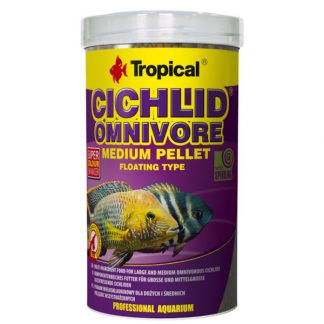 Tropical omnivore medium pellet