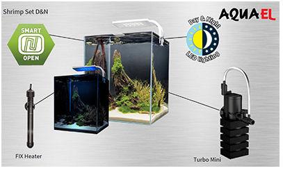 Aquael shrimp set uusi versio